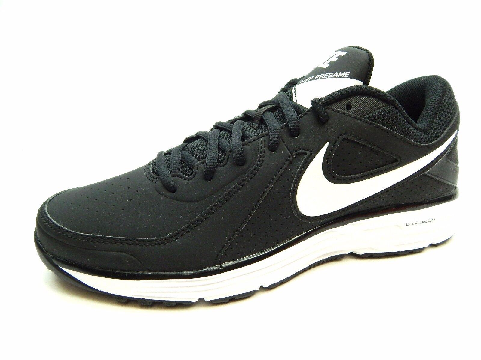 Nike Lunar Mvp Pregame 524640 010 Black White Men shoes Size 12.5