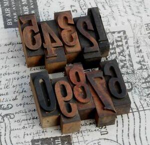 0-9-Zahlen-Holzzahlen-54-mm-Holzlettern-Druck-Lettern-Ziffern-Zahl-Druckerei