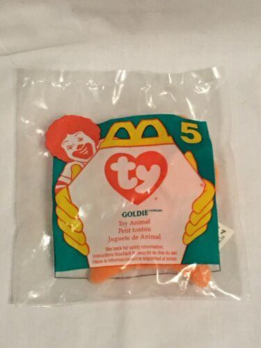 McDonald/'s Ty Teenie Beanie Babies 1996 Goldie #5
