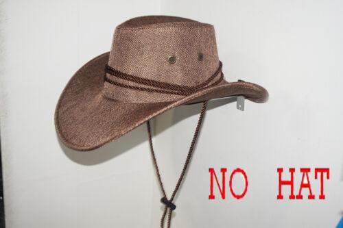 Cowboy Hat Rack Hat Saver//Hanger Holder Hook Riding Helmet Wall Mount Metal