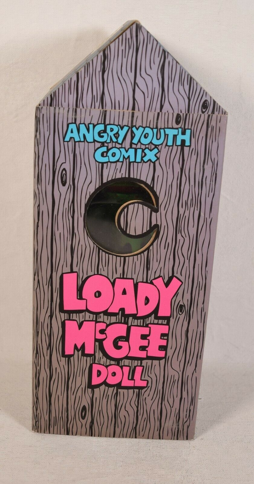 Angry Youth Comix Loady McGree Doll Outhouse Johnny Ryan Vinyl Figure 7.5