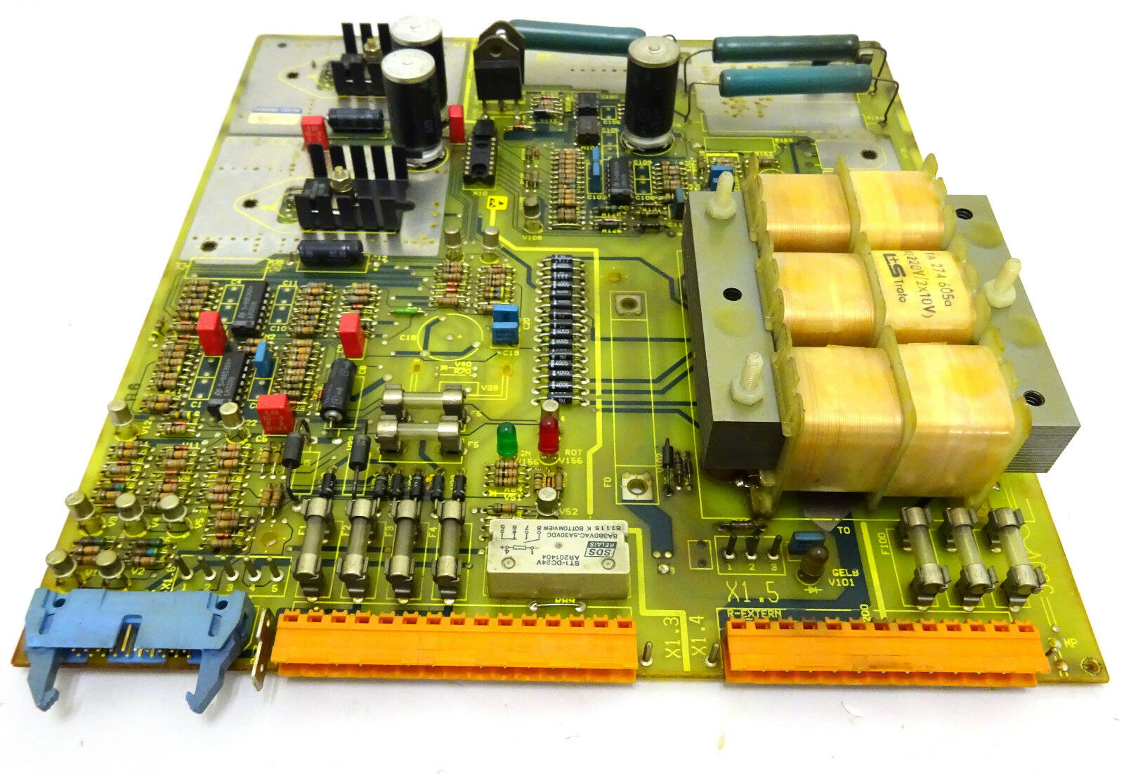 Siemens 6rb2000-0ga00 Dc Drive Power Power Power Supply Board 6311ce