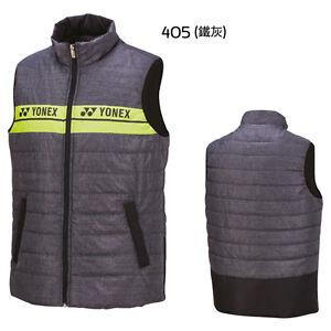 2016 YONEX 11662 Men's Warm-Up Vest _UNISEX Vest_YONEX TW Version