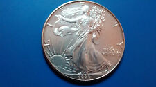 MONEDA DE PLATA PURA  0.999/1000 EEUU Liberty Eagle  AÑO 1993 1 ONZA  EN CAPSULA