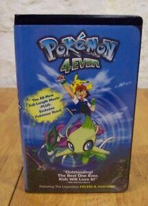Pokemon 4ever Vhs Video 2003 Full Length Movie 786936208573 Ebay