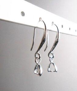 10-100PCS-DIY-Jewelry-Earring-Findings-Silver-Pinch-Bale-Hook-Earwires-Wholesale