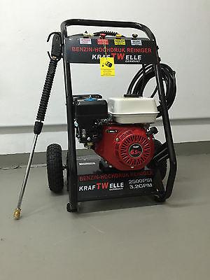 NUEVO Limpiador alta presión 6,5 PS 4,8 kW Gasolina Motor a de vapor 210 bar