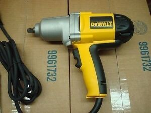 new dewalt dw292 1 2 inch electric impact wrench drill 7 5 amp kit new in box 28877465197 ebay. Black Bedroom Furniture Sets. Home Design Ideas