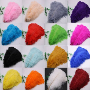 Wholesale-10-500-Pcs-High-quality-Natural-Ostrich-Feathers-6-24-Inch-15-60cm
