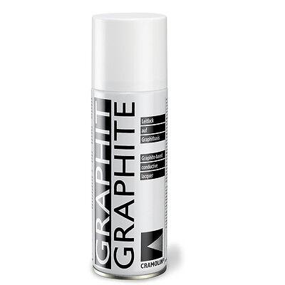 Cramolin GRAPHIT 200ml Leitlack Grafit 33 Lack bis 300°C ITW leitfähige Schicht