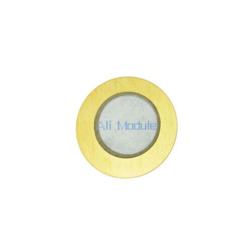 5PCS 27mm Piezo Elements Sounder Sensor Trigger Drum Disc Wire Copper UK