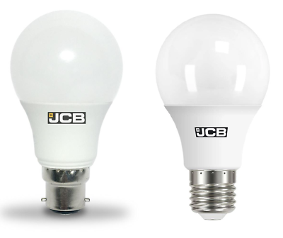 JCB LED Candle Light Bulb 150° B22 E14 Energy Saving 3000K 3W 6W