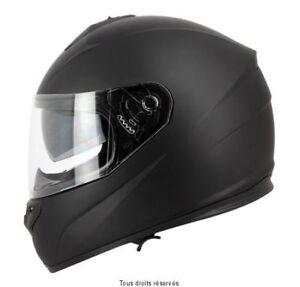 Casque-Moto-Scooter-Integral-S-Line-S440-double-visiere-noir-mat-taille-XS