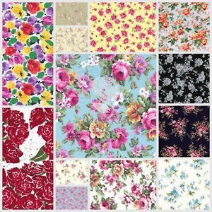 Fabric  Vintage Stamps Fabric Quilt Cotton Fabric Floral Stamps beautiful