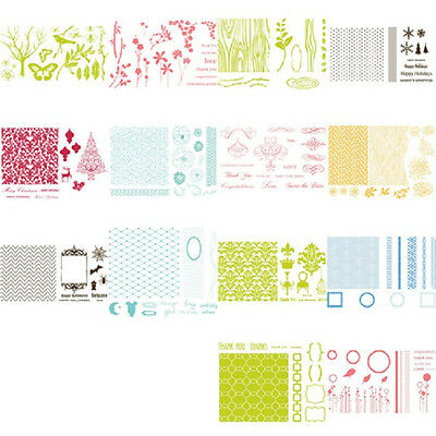 Quickutz Lifestyle Letterpress Printing Plate Set TILE SPOOKED BABY KIT WEDDING
