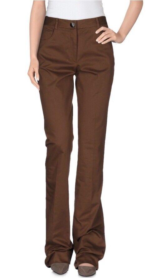 Miu Miu Women Pants Size 38 NWT Brown
