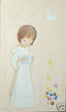 OLD FIRST COMMUNION REMEMBRANCE HOLY CARD ANDACHTSBILD SANTINI SEE MY SHOP C720