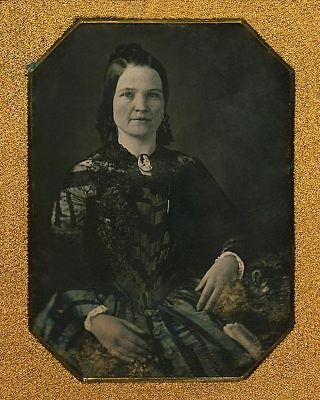 MARY TODD LINCOLN PORTRAIT 8x10 SILVER HALIDE PHOTO PRINT