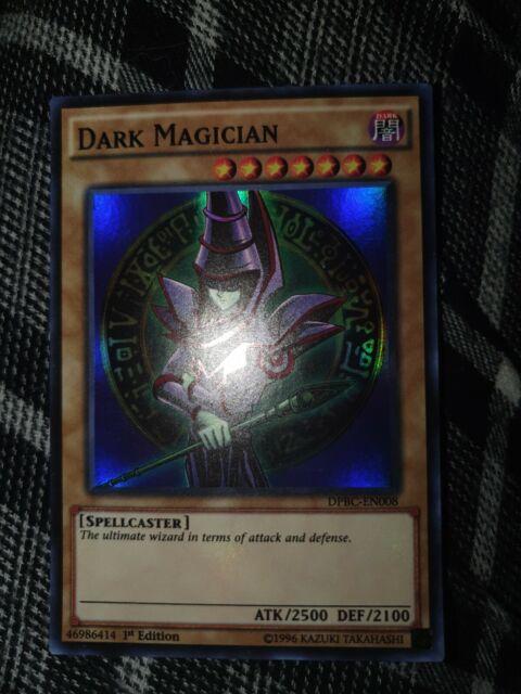 DARK MAGICIAN 1ST ED SUPER RARE NM DPBC-EN008 YUGIOH