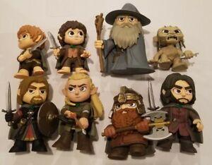 Funko Mystery Mini Lord of the Rings Lot Legolas Gandalf Frodo Gollum + more