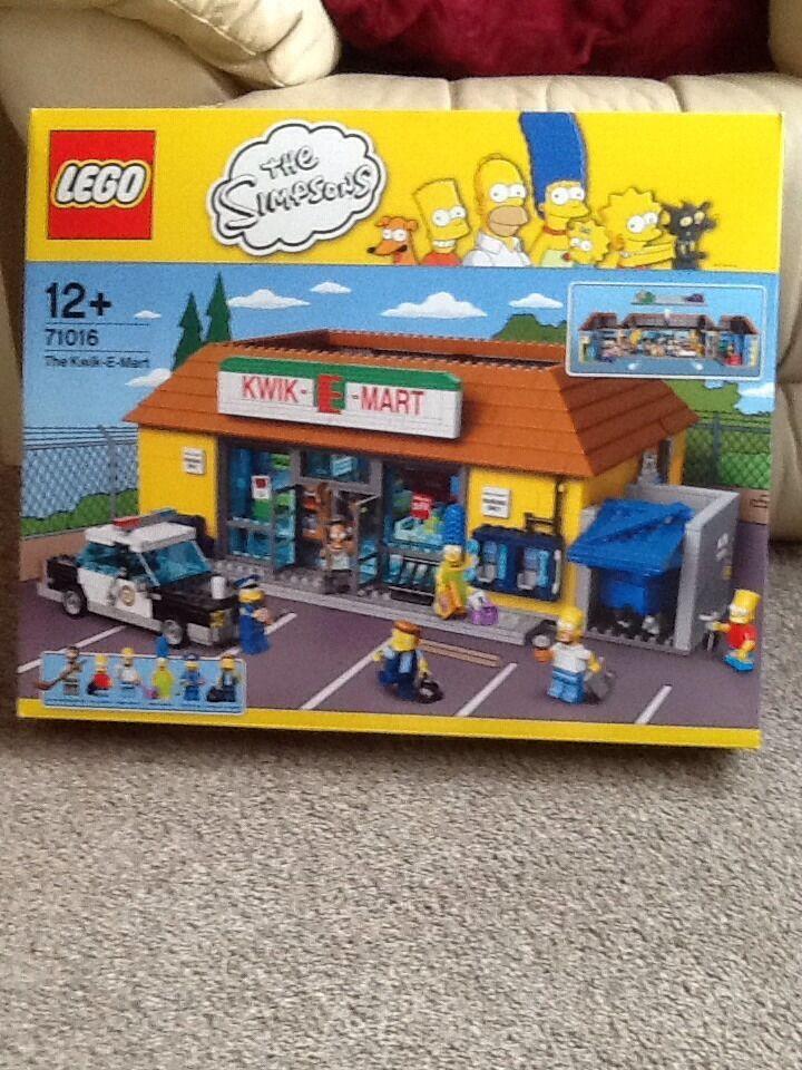 Lego Lego Lego The Simpsons Kwik-E-Mart 71016 - Brand New Sealed 3f5127