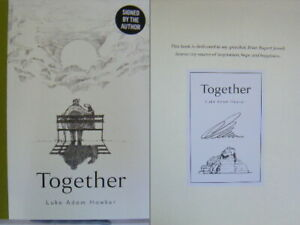 Signed Bookplate in Book Together by Luke Adam Hawker Hardback 1st Edition 2021