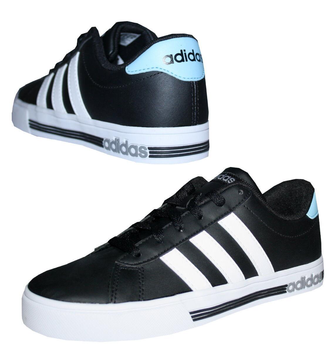 Adidas Neo Daily Team Sneaker Damen Herren Freizeitschuhe Schuhe schwarz Gr. 40