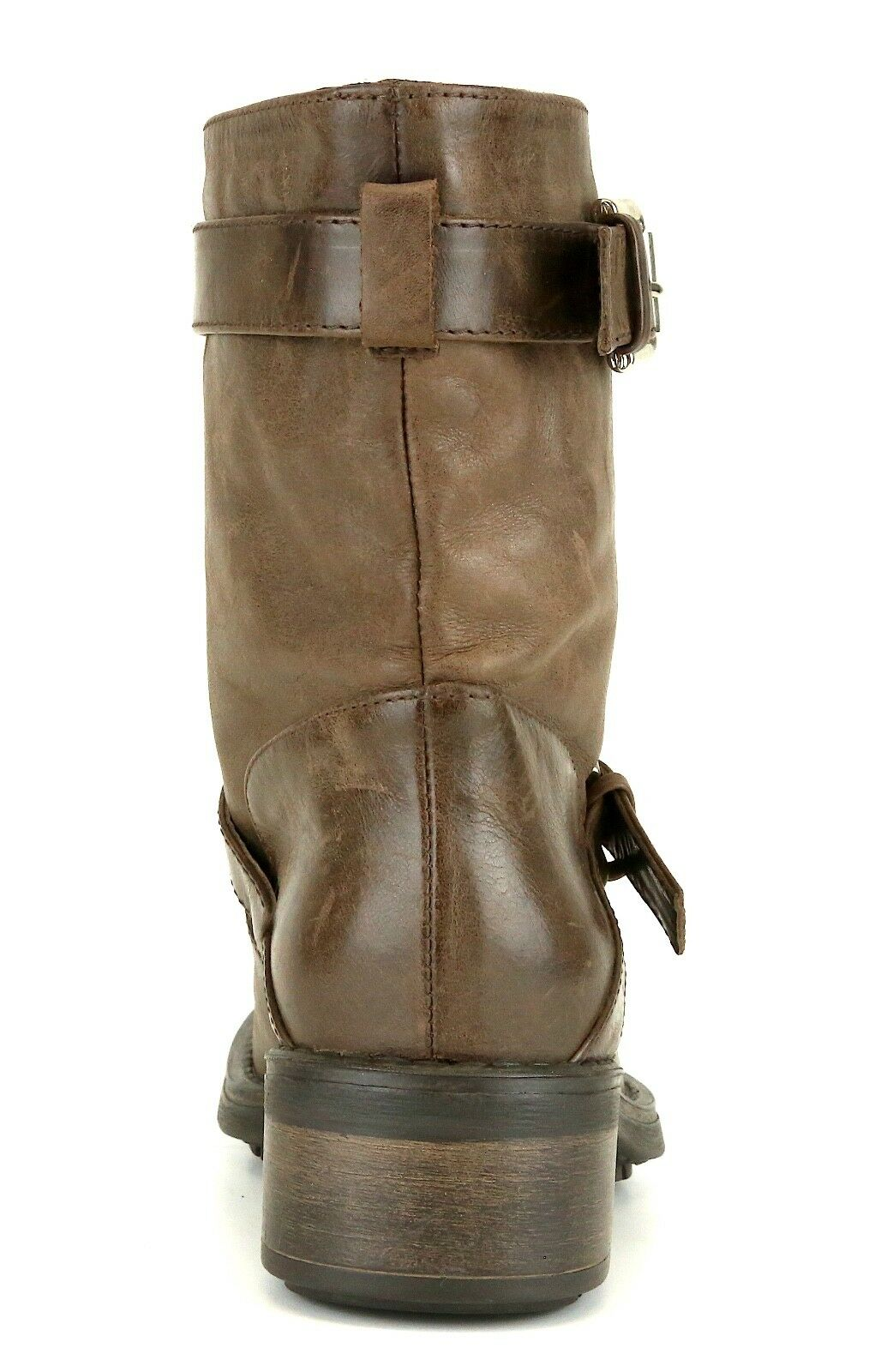 Aquatalia By Marvin K. Sweet Buckle Leather Boot Brown Brown Brown Women Sz 6 5104  d0e77b