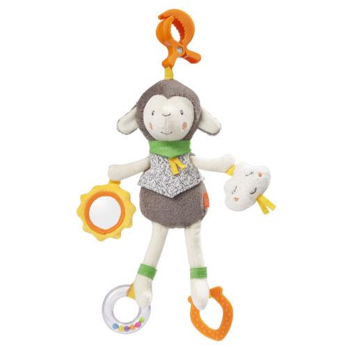 Fehn Sunshine Activity-Schaf mit Klemme NEU