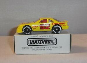 Mj7 Matchbox Toy Fair Ford Thunderbird Yellow New York 1992 Ebay