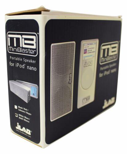NEW JLAB Audio MINI BLASTER Portable Music SPEAKER For iPod Nano Deadstock NIB !