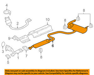 Pontiac GM Oem 2007 G6 35lv6muffler 25844226 Ebay. Is Loading Pontiacgmoem2007g635lv6. Pontiac. 2007 Pontiac G6 Part Schematics At Scoala.co