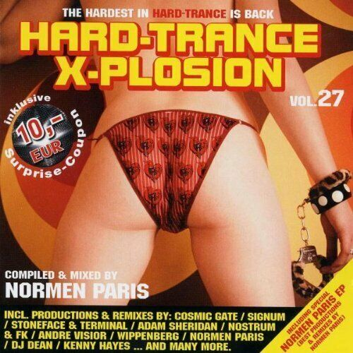 Hard-Trance X-plosion 27 (comp./mixed by Normen Paris) Cosmic Gate, Sig.. [2 CD]