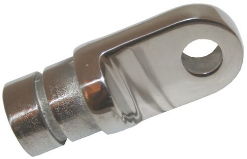 Boat canopy fitting bow end fits tube mm quot id