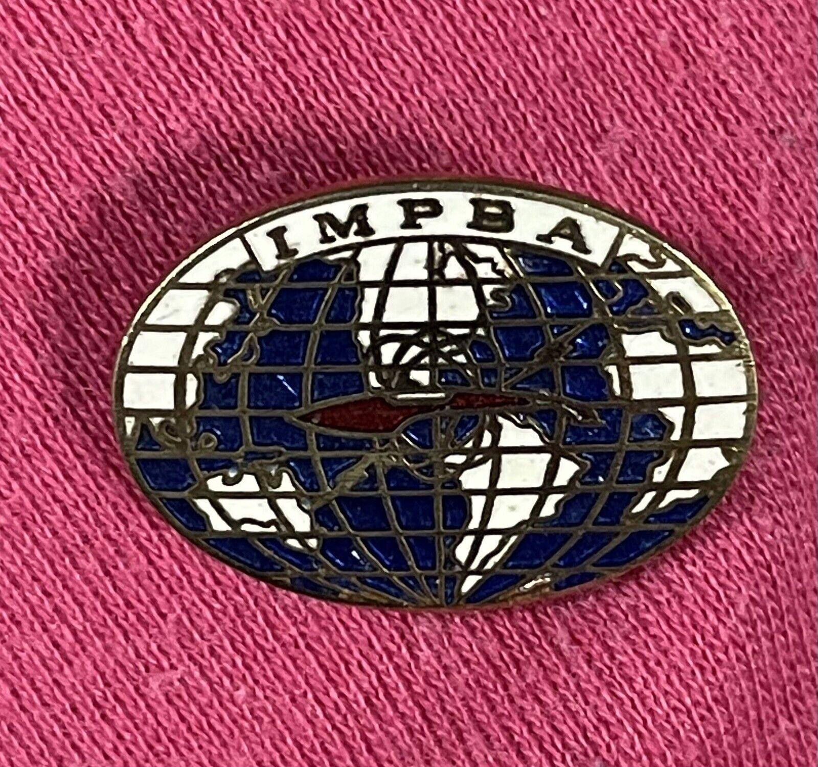 IMPBA PIN VINTAGE 1979 I.M.P.B.A. INTERNATIONAL MODEL POWER BOAT ASSOC.