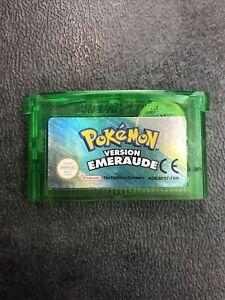 Pokémon version émeraude game boy advance VERSION FR