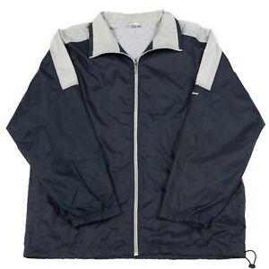 deca7428a1dbb Details about VGC Vintage REEBOK Windbreaker Jacket | Men's XL | Track  Tracksuit Bomber Retro