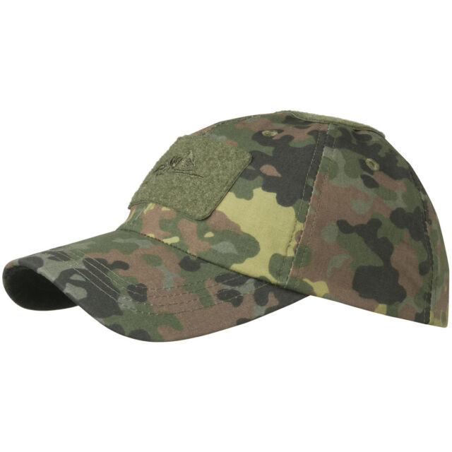 47f56362bbc Helikon Tactical Mens Baseball Cap Army Combat Patrol Uniform Hat Flecktarn  Camo