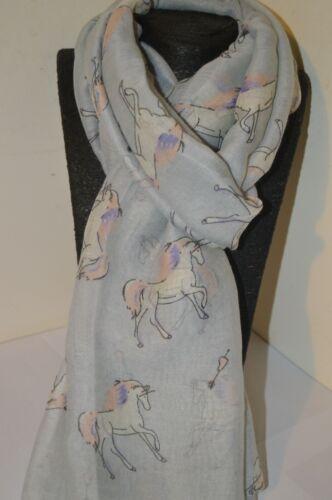 Horse Print Scarf Animal Shawl Women Ladies Fashion Scarves Big Wrap Sarong Long