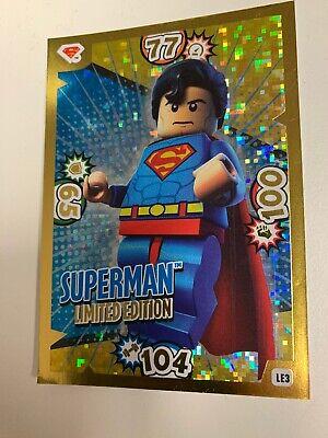 LEGO Batman Movie Karten Nr Limitierte Auflage Wonder Woman LE8