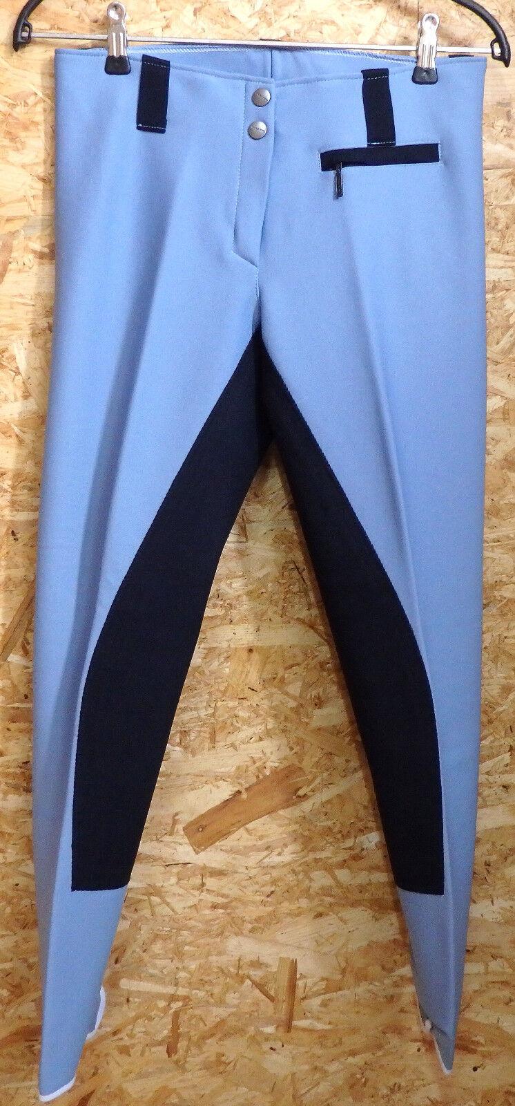 Jumper King  Reithose, 3 4 Vollbesatz,Gr. 80, Hellblue blue  (30)