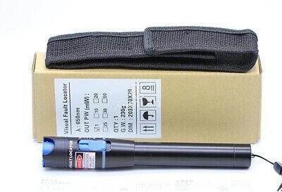 VFL Visual Fault Locator 10mW 20mW 25mW 30mW 50mW Fiber Optic Tester Meter 650nm