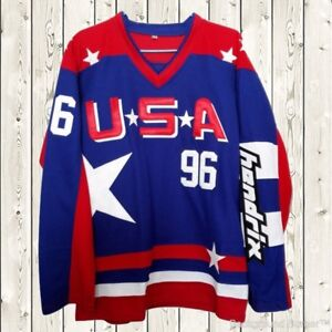 Image is loading Charlie-Conway-Hockey-Stitched-Jersey-USA-Mighty-Ducks- 9cf945a3e