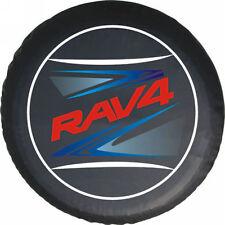 Spare Tire Cover Series TOYOTA RAV4 Tire Cover Red Metallic logo HD vinyl