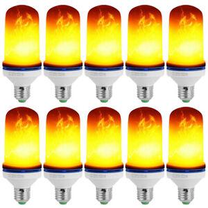 E27 5W LED Licht Flickering Birnen Fackel Feuer Flammen Effekt Glühbirne Dekor
