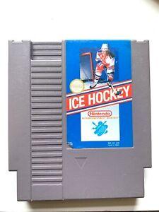 ICE HOCKEY - ORIGINAL Classic NES Nintendo Game Tested + Working Authentic!
