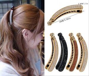 Women-Crystal-Rhinestone-Banana-Barrette-Hair-Clip-Hairpin-Hair-Accessories-Gift