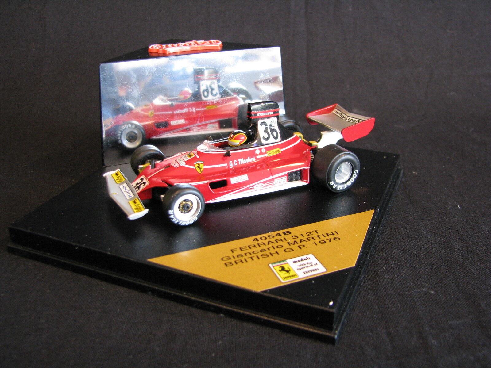 Quartzo Ferrari 312 T 1976 1 43  36 GianCochelo Martini (ITA) British GP (LS)