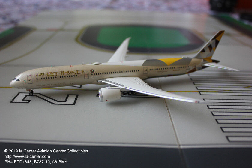 Phoenix - modell etihad airways boeing 787-10 in aktuellen farben ein diecast modell 1 400
