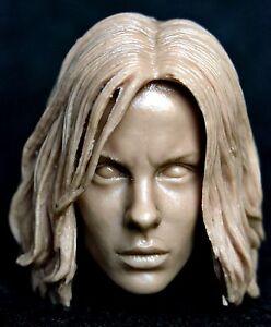 Free Ship 1:6 scale Kate Beckinsale Custom Head Sculpt Underworld Selene female